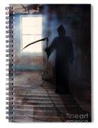 Grim Reaper Spiral Notebook