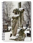 Grip Of Winter Spiral Notebook