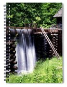 Grist Mill And Water Trough Spiral Notebook