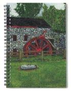Grist Mill At Wayside Inn Spiral Notebook