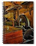 Grist Mill Gears Spiral Notebook