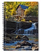 Grist Mill In Babcock State Park West Virginia Spiral Notebook