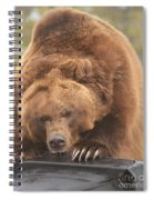 Grizly Lunch Spiral Notebook