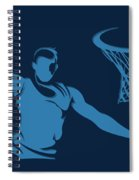 Grizzlies Shadow Player1 Spiral Notebook