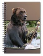 Grizzly Bear 6 Out Of Bounds Spiral Notebook