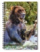 Grizzly Bear Photo Art 02 Spiral Notebook