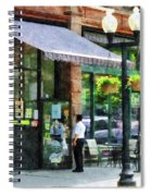 Grocery Store Albany Ny Spiral Notebook