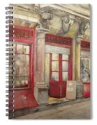 Grocery Store In Old Town Spiral Notebook