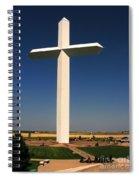 Groom Texas Cross Spiral Notebook