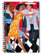 Groovin High In Nyc Spiral Notebook