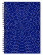 Mandala Blue Marvel Spiral Notebook