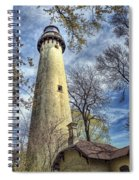 Grosse Point Lighthouse Color Spiral Notebook