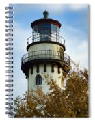Grosse Point Lighthouse Spiral Notebook