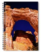 Grosvenor Arch Sunset Kodachrome Basin Spiral Notebook