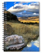 Grosvenor Hills 17 Miles North Of Mexico Spiral Notebook