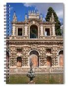 Grotesque Gallery In Real Alcazar Of Seville Spiral Notebook