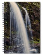 Grotto Falls Tennessee Spiral Notebook