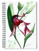 Ground Orchid Spiral Notebook