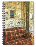 Front Porch - Ground Zero Blues Club Clarksdale Ms Spiral Notebook