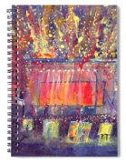 Groundation At Arise Music Festival Spiral Notebook