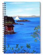 Grounded Iceberg Spiral Notebook