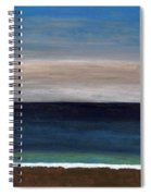 Grounding By The Sea Spiral Notebook