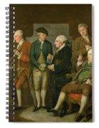 Group Of Connoisseurs Spiral Notebook