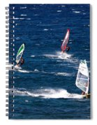 Group Of Three Spiral Notebook