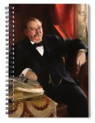 Grover Cleveland Spiral Notebook