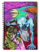 Growing Evils Spiral Notebook