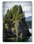 Growing From Rock Spiral Notebook