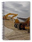 Grownup's Sandbox Spiral Notebook