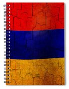 Grunge Armenia Flag  Spiral Notebook