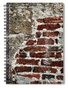 Grunge Brick Wall Spiral Notebook