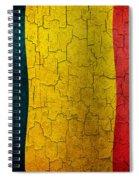 Grunge Chad Flag Spiral Notebook