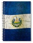 Grunge El Salvador Flag Spiral Notebook