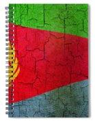 Grunge Eritrea Flag Spiral Notebook