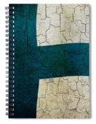Grunge Finland Flag Spiral Notebook