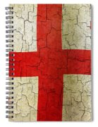 Grunge Georgia Flag Spiral Notebook