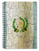 Grunge Guatemala Flag Spiral Notebook