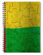 Grunge Guinea-bissau Flag Spiral Notebook