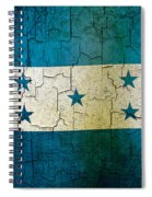 Grunge Honduras Flag Spiral Notebook