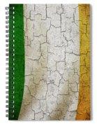 Grunge Ireland Flag Spiral Notebook