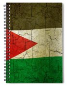Grunge Jordan Flag Spiral Notebook