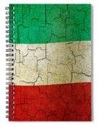 Grunge Kuwait Flag Spiral Notebook