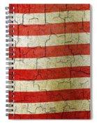 Grunge Liberia Flag Spiral Notebook