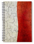 Grunge Malta Flag Spiral Notebook