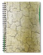 Grunge Nigeria Flag Spiral Notebook