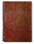 Grunge Qatar Flag Spiral Notebook