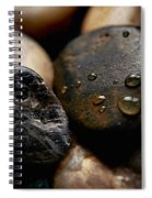 Rocks And Drops Spiral Notebook